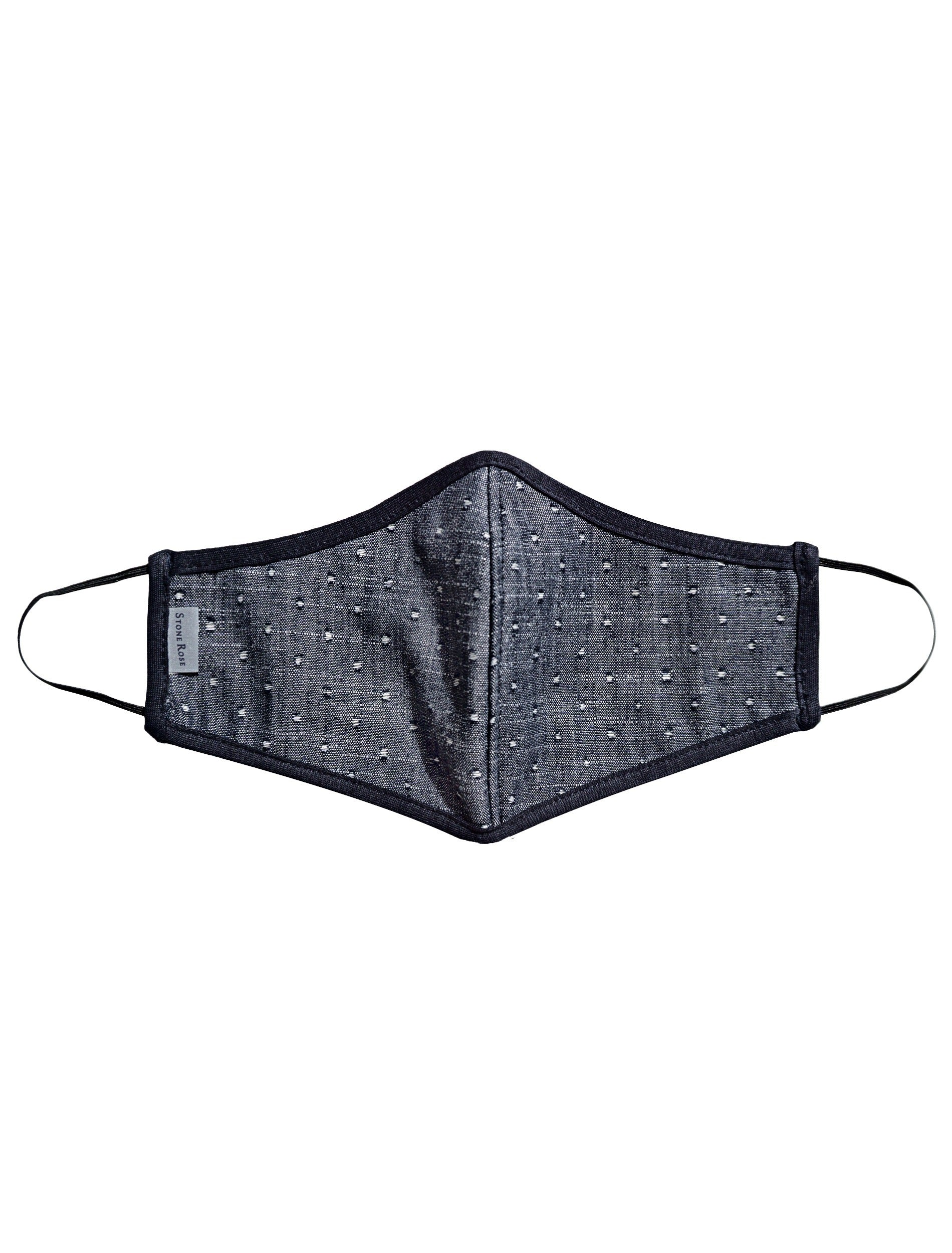 Dark Jean Polka Dot - Reusable Lighweight Face Mask