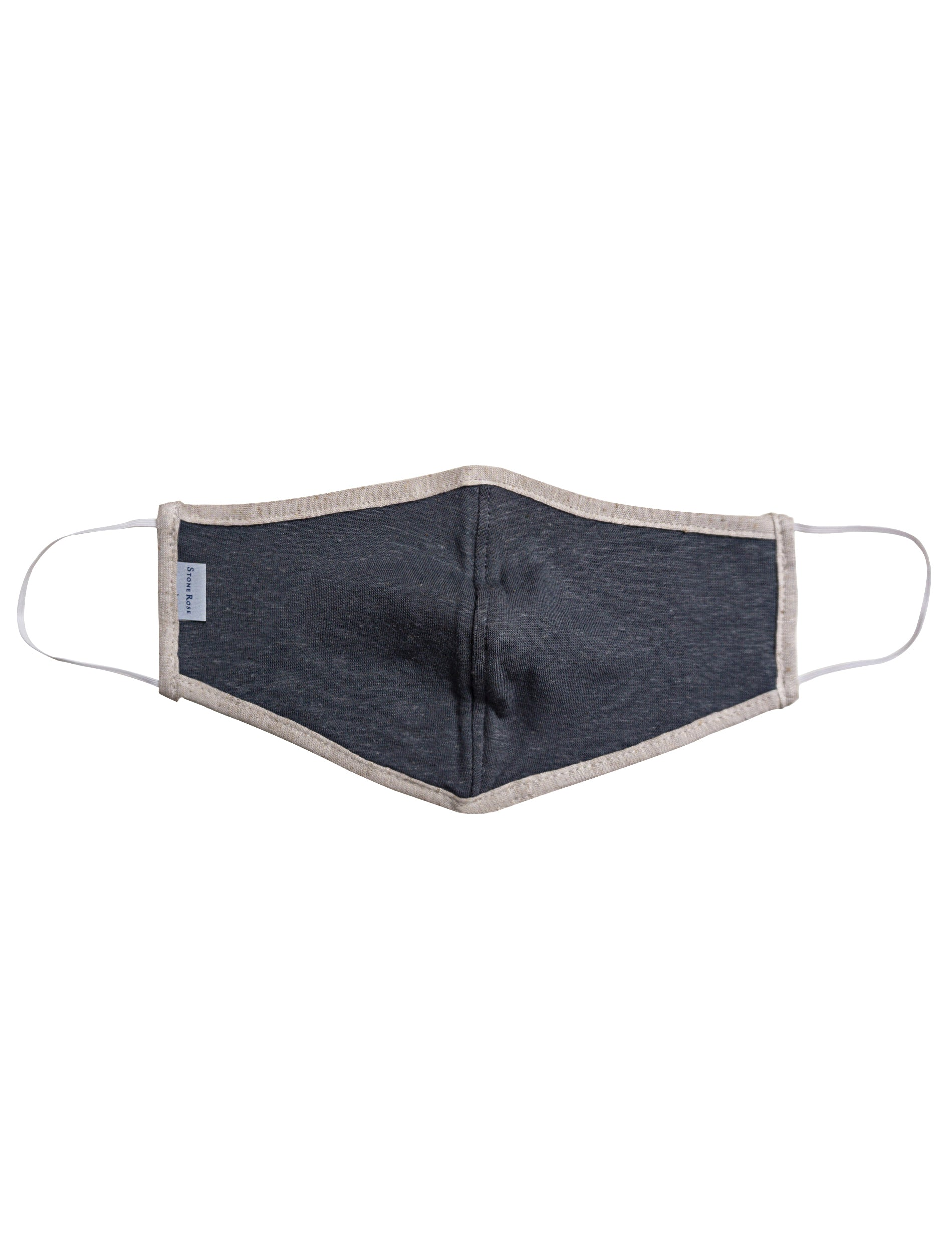 Grey & Beige - Reusable Lighweight Face Mask