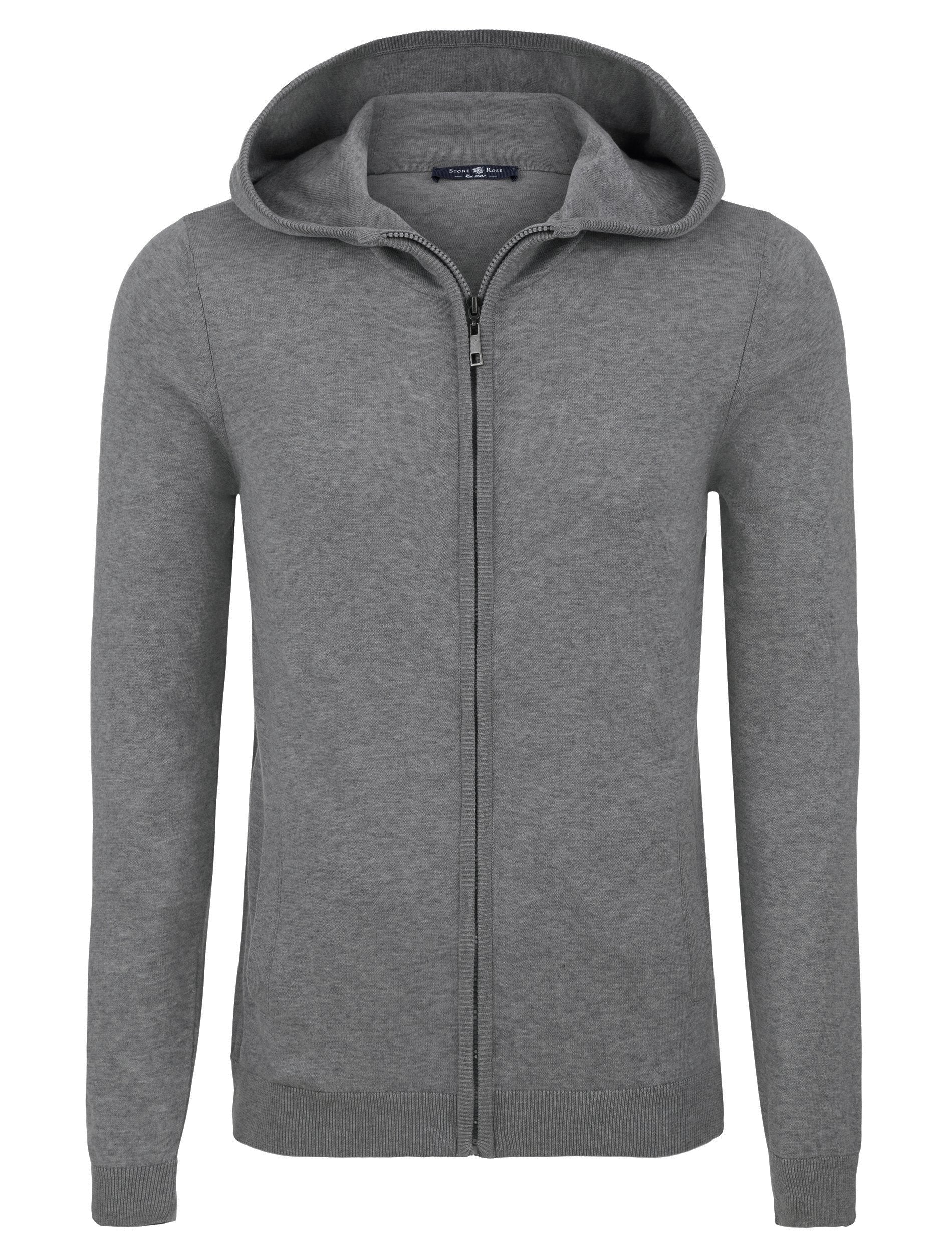 Light Grey Natural Heather Hoodie