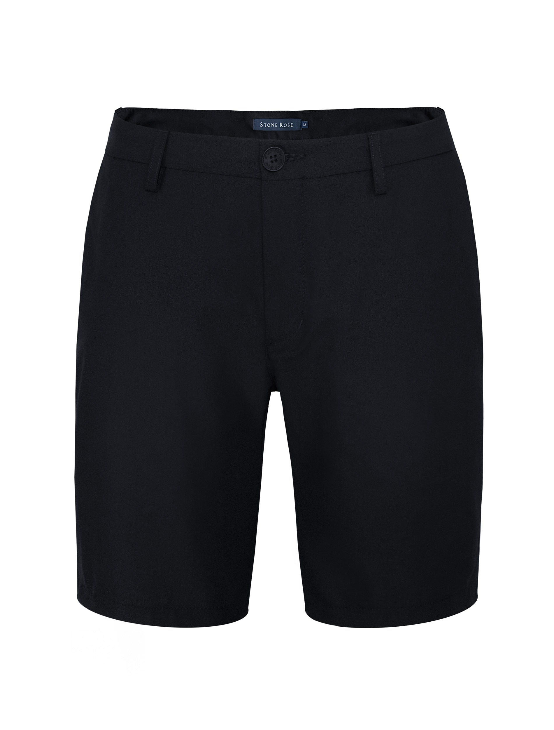 Black Stretch Performance Shorts