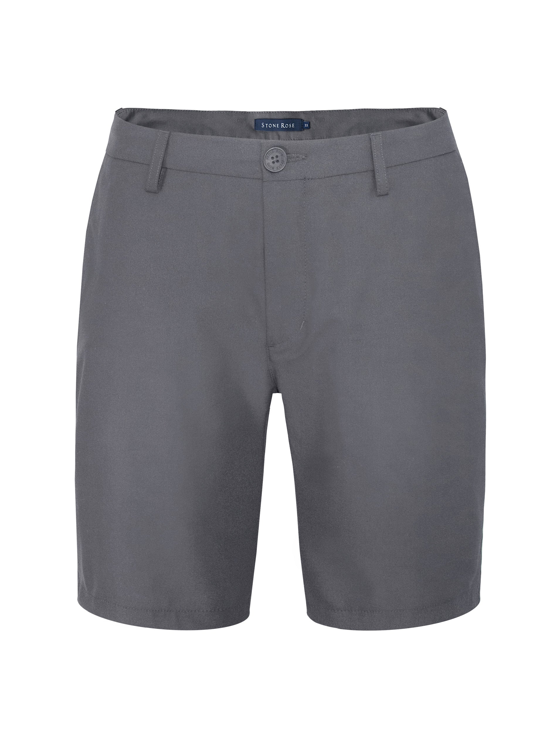 Dark Grey Stretch Performance Shorts