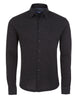 Black Birdseye Knit Long Sleeve Shirt