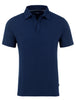 Navy Micro Modal Button-less Polo