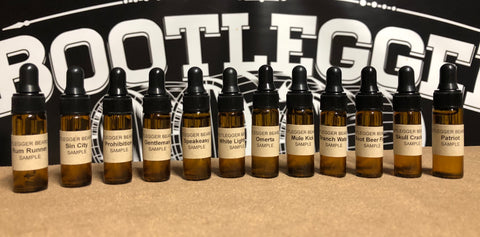 Beard oil sample 12 pack