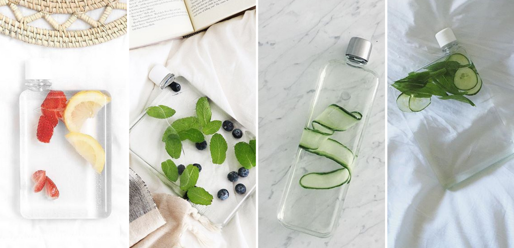 4 Infused-Water Recipes You Can Try With Your memobottle