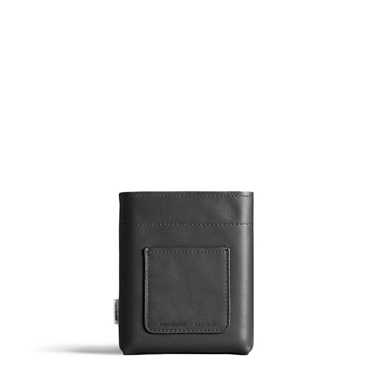 A6 Leather Sleeve - Black