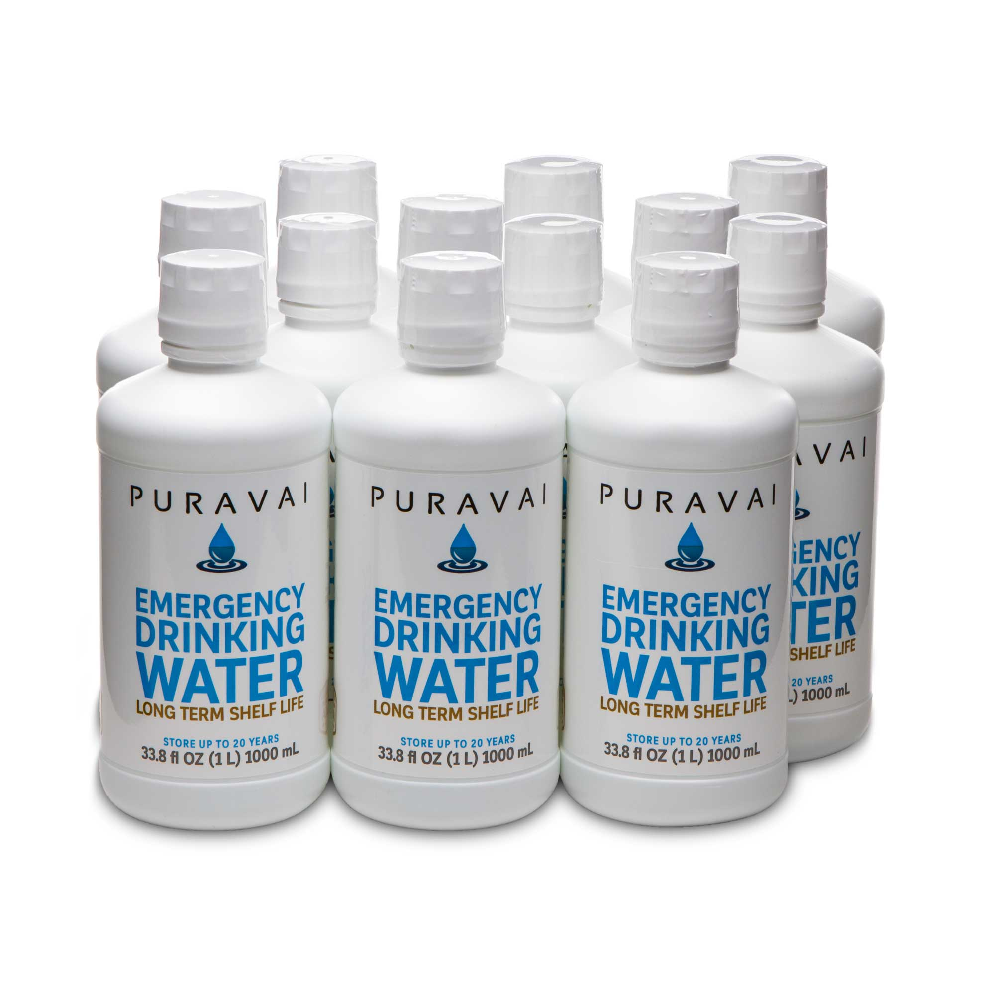 PURAVAI EMERGENCY DRINKING WATER 12 PK