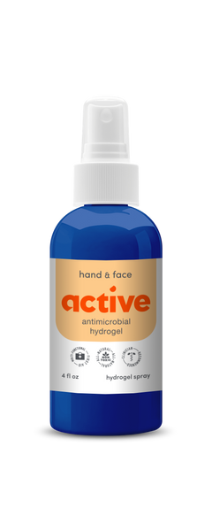 Active Hydrogel Hand and Face Spray