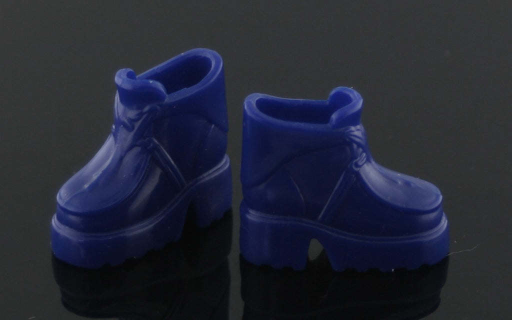 Barbie Shoes -- Dark Blue Hiking Boots