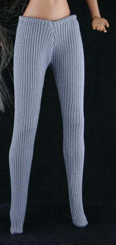 LJM Brooke Shields -- Grey Tights -- VGC