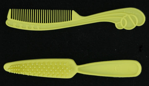 Superstar Era Barbie Brush & Comb -- Yellow -- Philippines