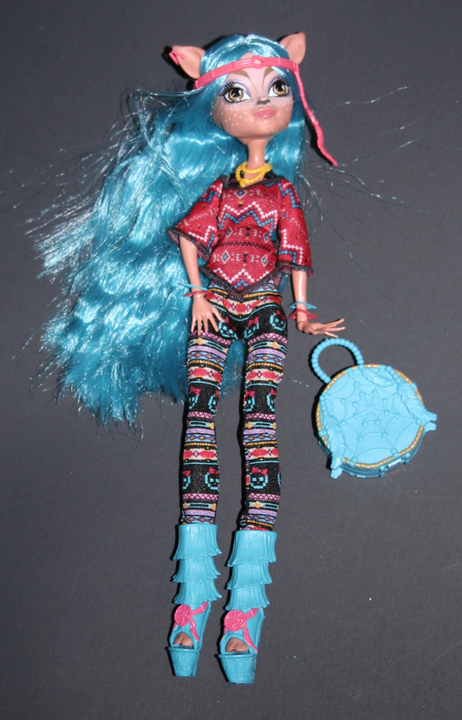 Dressed Monster High Doll -- Isi Dawndancer Brand Boo Students