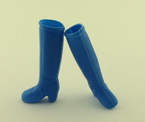 Hasbro Charlies Angels Shoes -- Bright Blue Boots