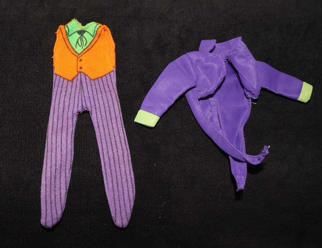 Mego Joker Original Vintage Body Suit and Jacket