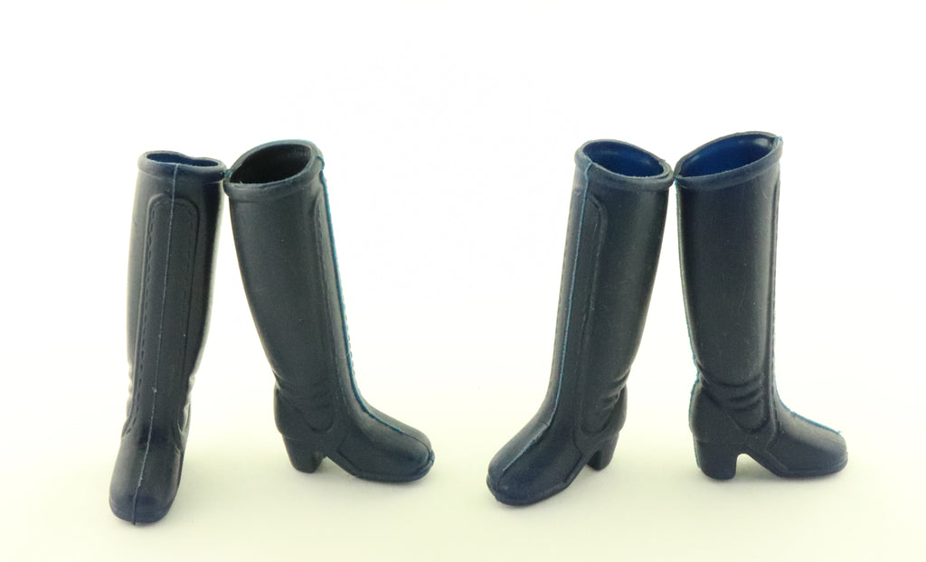 Hasbro Charlies Angels -- Two Pairs Dark Blue Boots