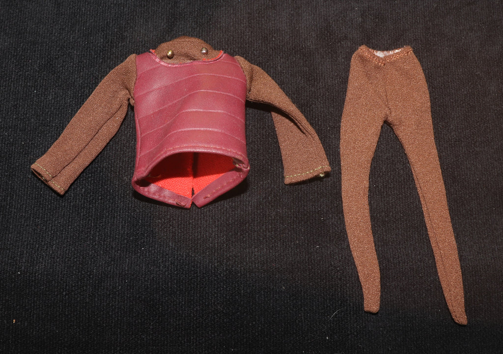 Vintage Mego Star Trek Gorn/Klingon Outfit (Minor TLC)