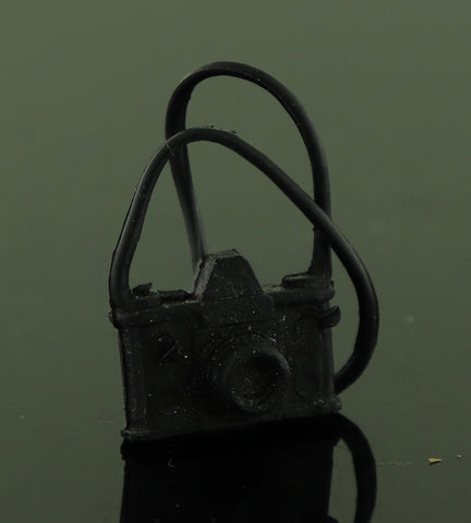 Mystery Item -- Black Rubber Camera W/ Strap