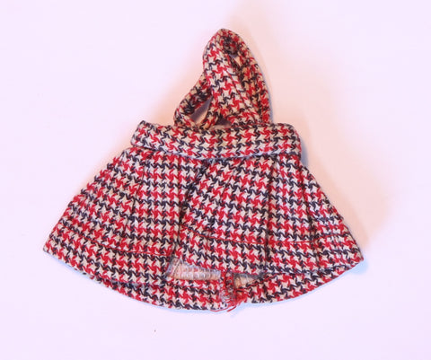 Mystery Item -- Red, White & Black Plaid Jumper