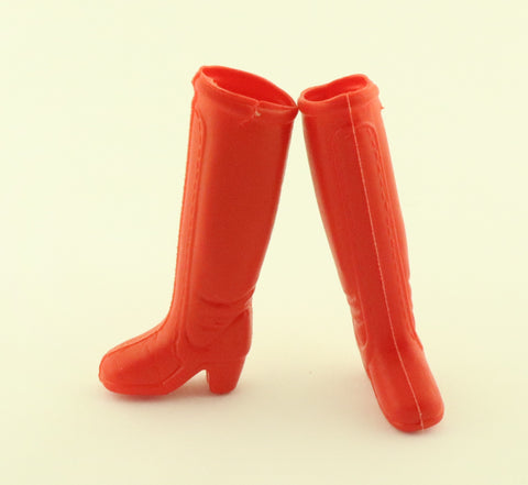Hasbro Charlies Angels Shoes -- Golden Sport Red Boots