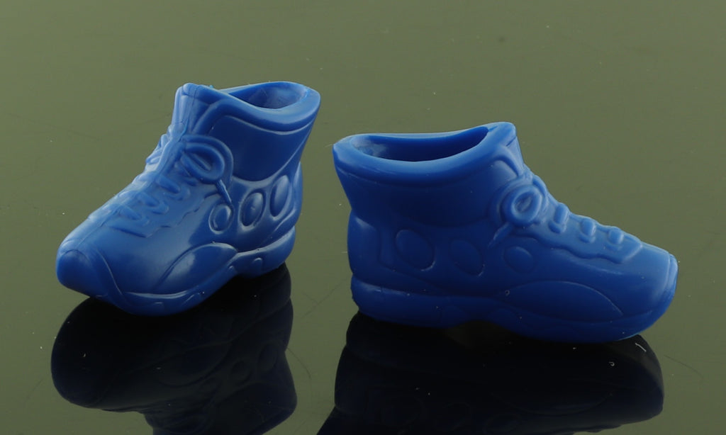 Barbie Shoes -- Royal Blue High Top Sneakers