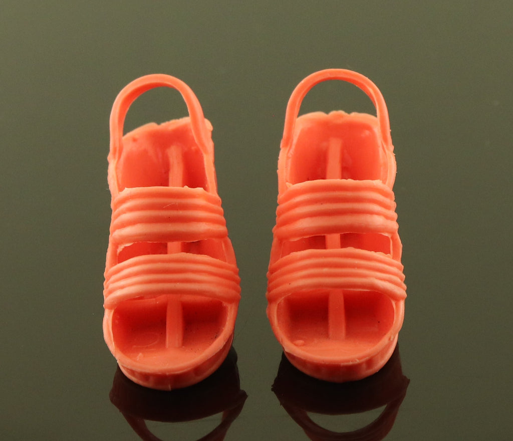 "Kenner Bionic Woman -- Wedges for ""Peach Dream"" Outfit"
