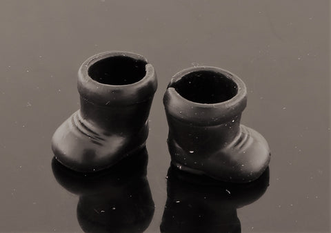 Mystery Items -- Black Rubber Boots