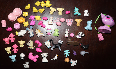 Lot of Barbie Size (or Smaller) Doll Pets & Toys