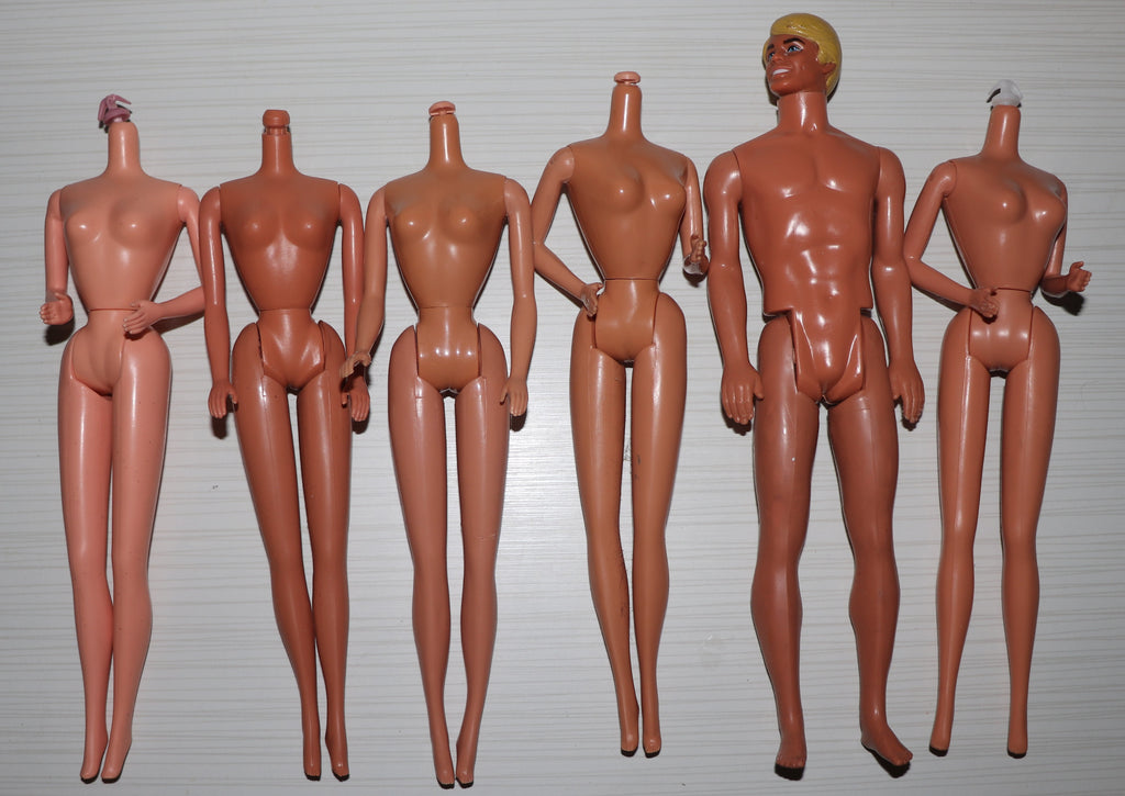 Superstar Era Barbie Body Parts Lot