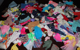 Large Lot of Barbie and Friends Vintage/Modern TLC Junk Clothes