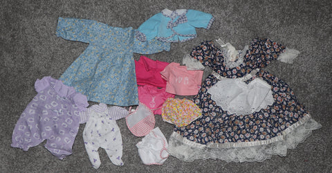 Babydoll or Bear Clothes -- Assorted Lot #3 of Rompers, Dresses, Etc