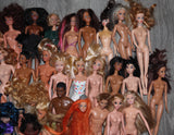 Job Lot of Barbies & Other Dolls -- Great for Reseller or OOAK Artist