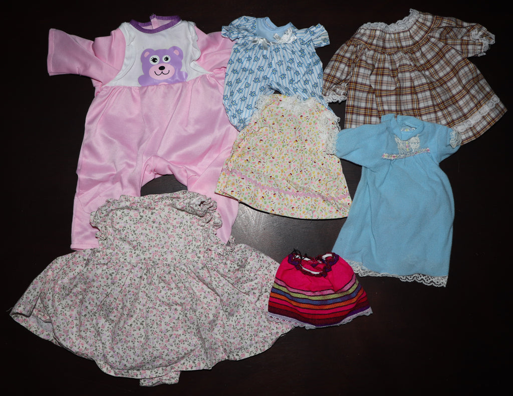 Babydoll Clothes Lot #1 -- Various Sizes, Reborn or Baby Dolls
