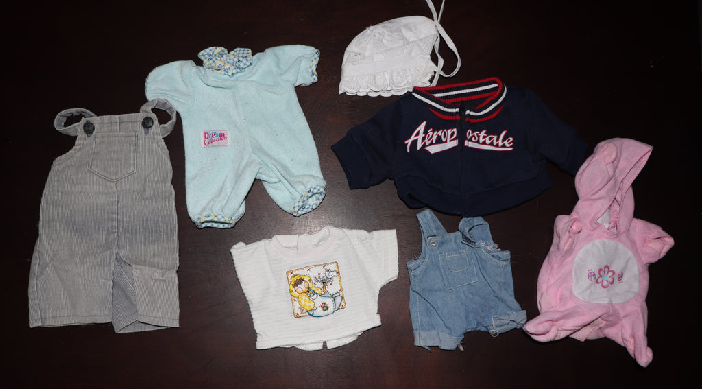 Babydoll Clothes Lot #2 -- Reborn or Baby Dolls, Various Sizes, Jacket