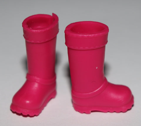 Kelly/Chelsea Doll Shoes -- Knee High Hot Pink Riding Boots