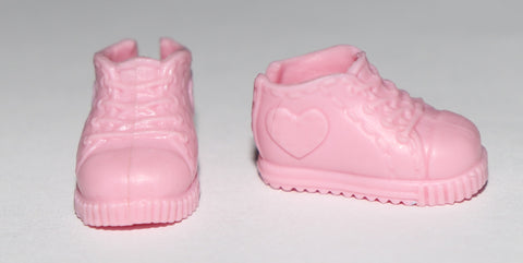 Barbie Shoes -- Kelly/Chelsea Pink Sneakers