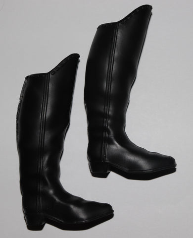 Disney Store Prince Hans Boots -- Black Tall Knee Boots -- Fit Ken