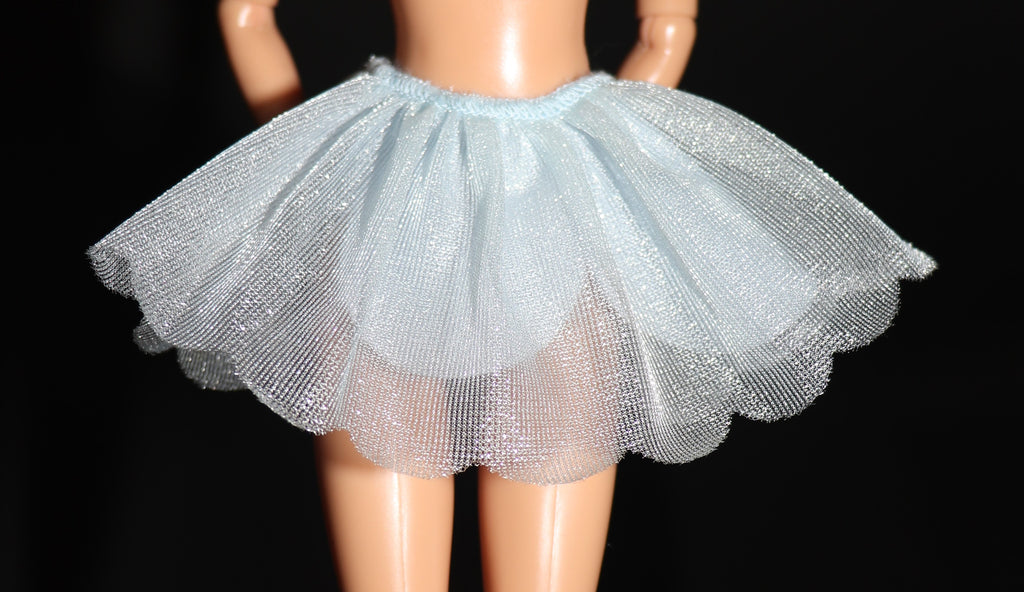 Barbie Size Clothes -- Blue Fairytopia Style Skirt