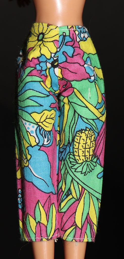 Barbie Size Clothes -- Tropical Print Pants