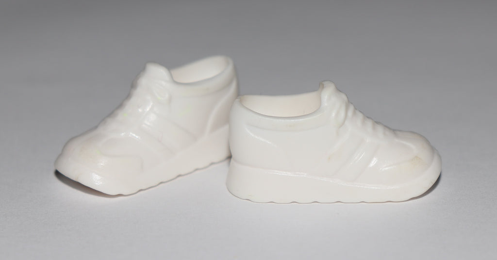 Barbie Shoes -- Chunky White Sneakers