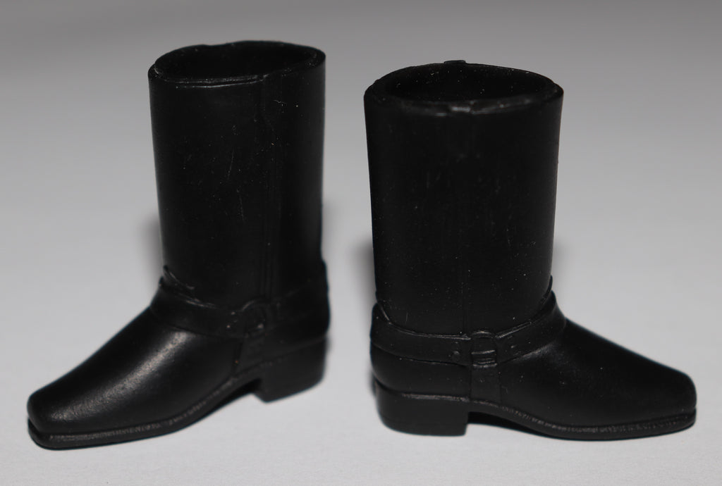 Big Jim Shoes -- Wolf Pack Black Paw Print Boots
