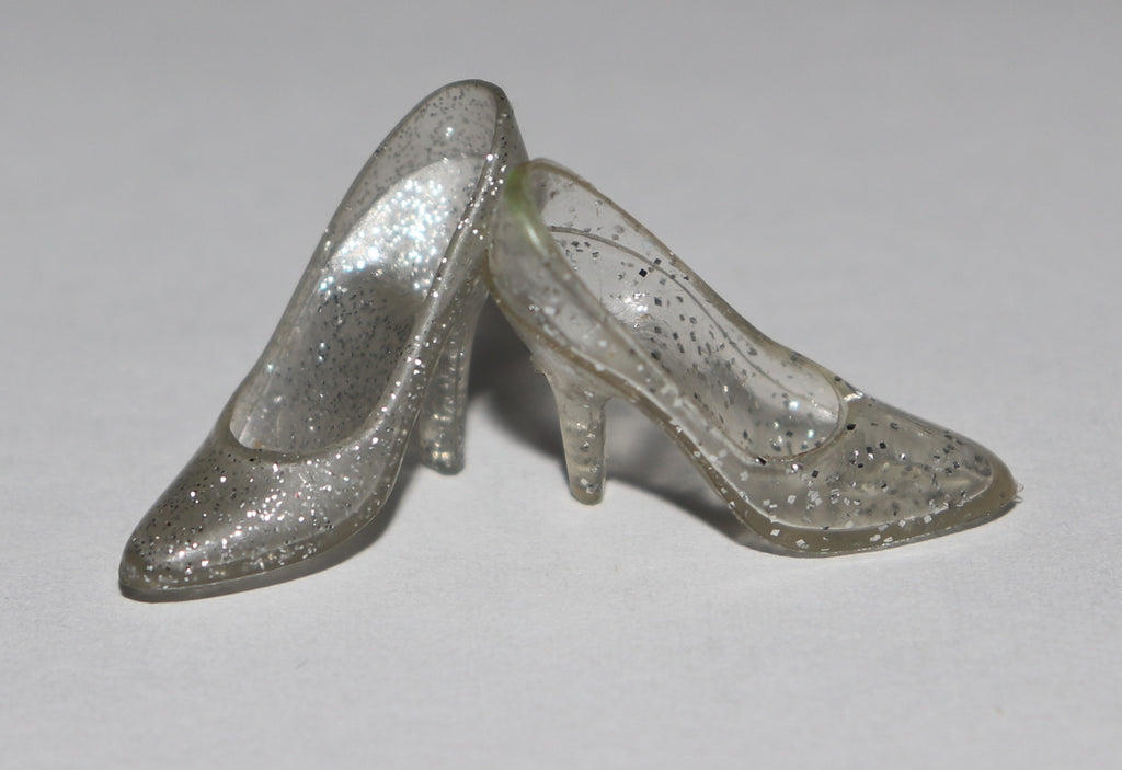 Barbie Shoes -- Superstar Era Crystal Barbie Pumps (Singles)