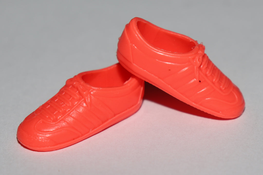 Barbie/Skipper Shoes -- Intense Neon Pink Classic Sneakers (China)
