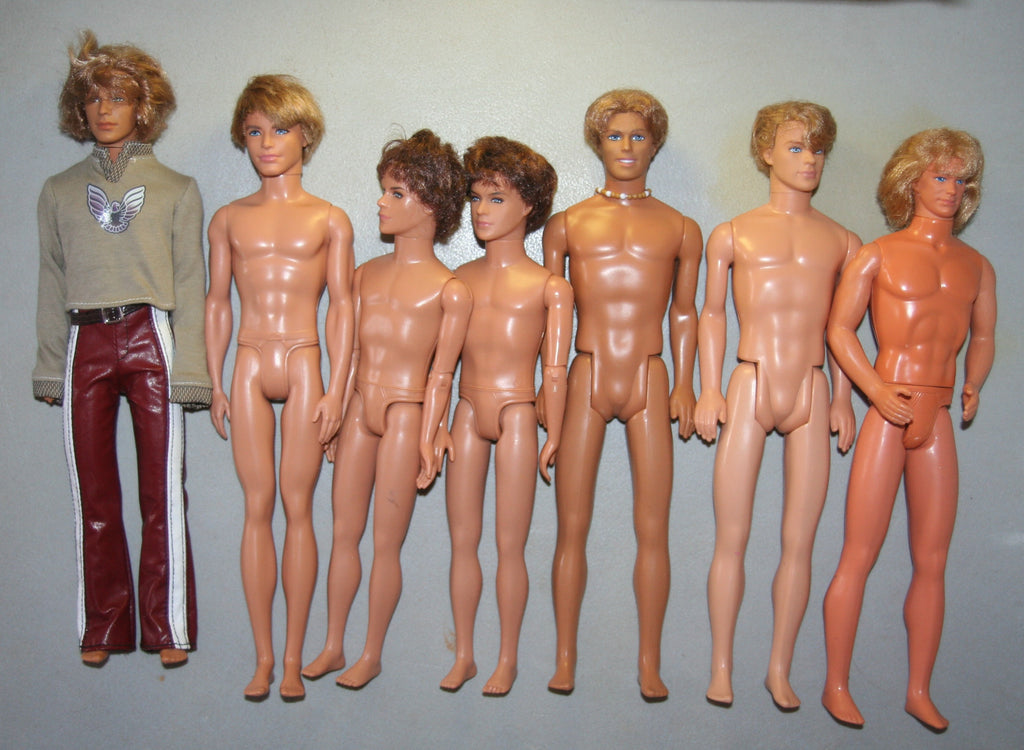 Nude Lot of Rooted Hair Ken & High School Musical Dolls