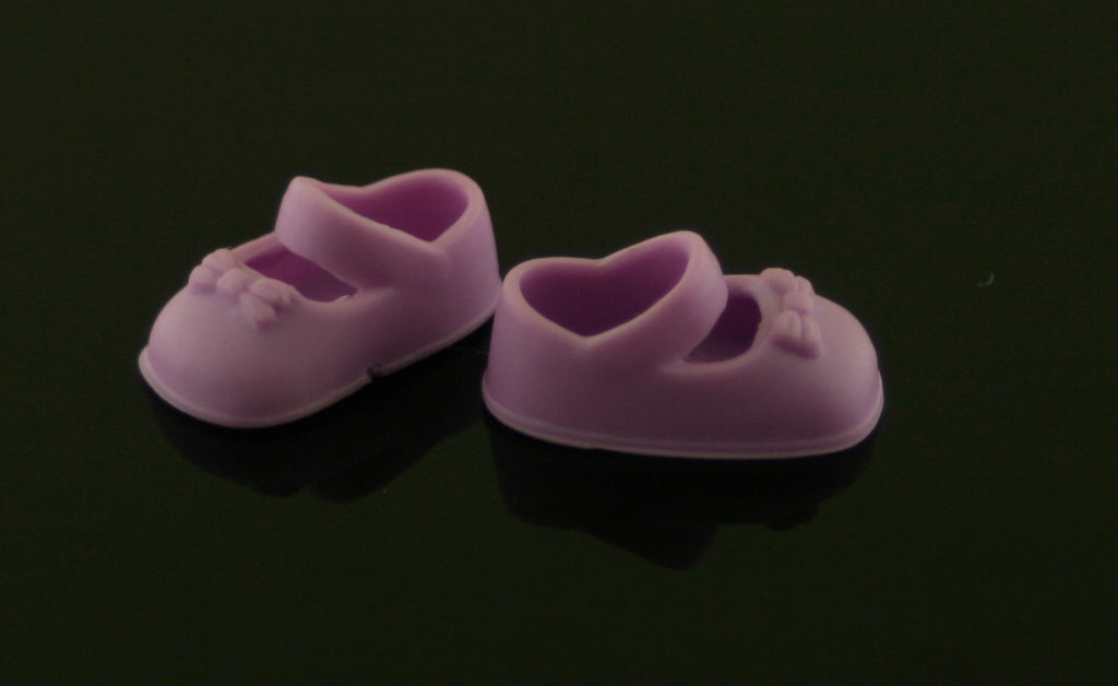 Kelly/Shelly Doll Shoes -- Light Purple Mary Janes