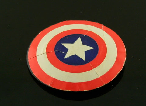 "Mego 8"" WGSH Captain America Shield -- Nice"
