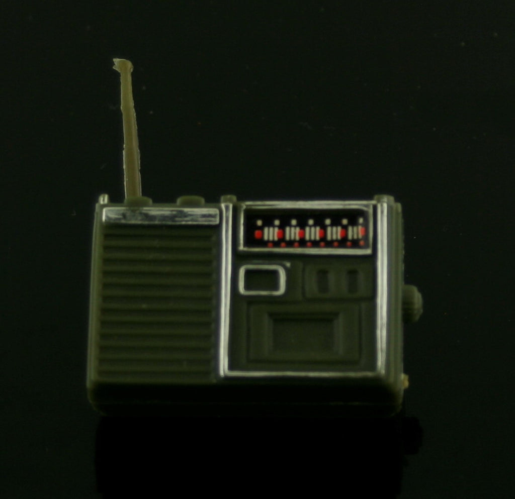 Mystery Item -- Green Plastic Radio