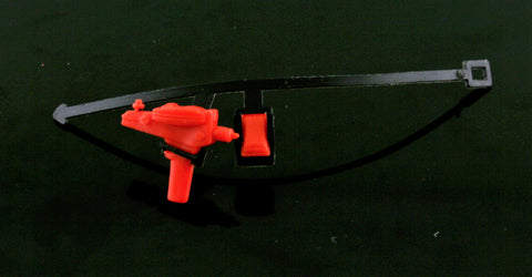 "Original Mego Star Trek 8"" Romulan/Klingon Red Phaser, Tricorder, Belt"
