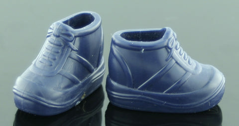 Barbie Size Shoes -- Navy Blue Chunky Sneakers -- Modern