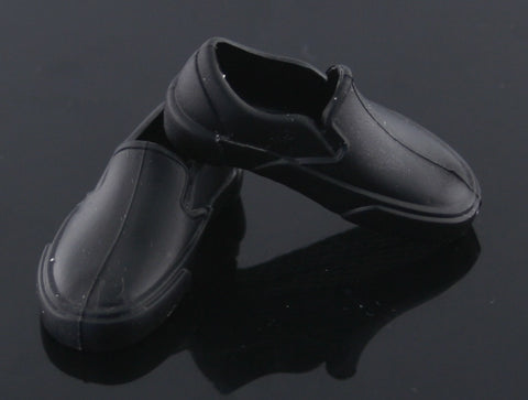 Ken Doll Shoes -- Black Dock Shoes