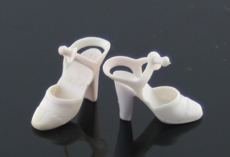 Barbie Superstar Shoes -- White Taiwan Sandals